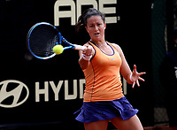 BOGOTÁ -COLOMBIA, 11-04-2018: Lara Arruabarrena de España  ,durante el Claro Open Colsánitas WTA  international event que se juega en El Club Los Lagartos al norte de la Capital ./ Lara Arruabarrena of Spain, during the Claro Open Colsánitas WTA international event that is played at El Club Los Lagartos north of the Capital. Photo: VizzorImage/ Felipe Caicedo / Staff