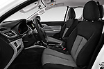 Front seat view of a 2018 Mitsubishi L200 Intense 2 Door Pick Up front seat car photos