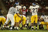 15 September 2007: Derek Belch during Stanford's 37-0 win over San Jose State at Stanford Stadium in Stanford, CA.