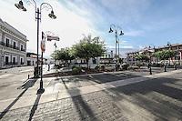 Plaza Bicentenario en la colonia Centenario de Hermosillo, Sonora, Mexico