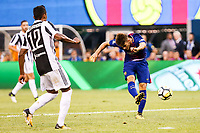 EAST RUTHERFORD, EUA, 22.07.2017 - JUVENTUS-BARCELONA - Denis Suarez do Barcelona (ESP) durante partida contra a Juventus (ITA) valido pela Internacional Champions Cup no MetLife Stadium na cidade de East Rutherford nos Estados Unidos neste sábado, 22. (Foto: William Volcov/Brazil Photo Press)