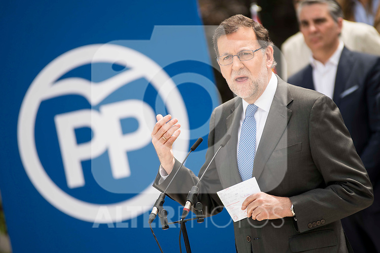 Mariano Rajoy during the presentation of candidates to the Congress of Deputies in Madrid. May 24, 2016. (ALTERPHOTOS/Borja B.Hojas)