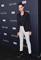 "LOS ANGELES, USA. June 06, 2019: Minnie Driver at the premiere for ""Ice on Fire"" at the LA County Museum of Art.<br /> Picture: Paul Smith/Featureflash"