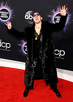 LOS ANGELES, CA - NOVEMBER 24: WATT attends the 2019 American Music Awards at Microsoft Theater on November 24, 2019 in Los Angeles, California, USA.<br /> CAP/ROT/TM<br /> ©TM/ROT/Capital Pictures