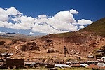 Mine, Andes, western Bolivia