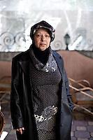 Mahason Ibrahim est la tante d'un des condamnes a mort. Elle est revenue de Dubai pour s'installer a Port Said et se battre pour la vie de son neveu.