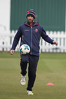 Glenn Maxwell of Lancashire CCC shows off his ball skills during Middlesex CCC vs Lancashire CCC, Specsavers County Championship Division 2 Cricket at Lord's Cricket Ground on 13th April 2019