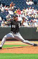 Royals right handed pitcher Paul Byrd picks up win number 13 against the Chicago White Sox at Kauffman Stadium in Kansas City, Missour on July 18, 2002.  Kansas City won 5-3.