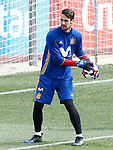 Spain's Sergio Rico during training session. March 22,2017.(ALTERPHOTOS/Acero)