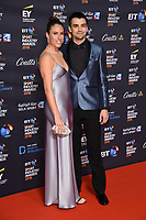 Johanna Konta &amp; Jackson wade arriving for the BT Sport Industry Awards 2018 at the Battersea Evolution, London, UK. <br /> 26 April  2018<br /> Picture: Steve Vas/Featureflash/SilverHub 0208 004 5359 sales@silverhubmedia.com