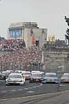 04.07.2010, Norisring, Nuernberg, GER, 4. DTM Lauf Norisring 2010, im Bild<br /> Ralf Schumacher (Laureus AMG Mercedes), Bruno Spengler (Mercedes-Benz Bank AMG), Jamie Green (Junge Sterne AMG Mercedes),  sowie das Verfolgerfeld<br /> Foto: nph /  News