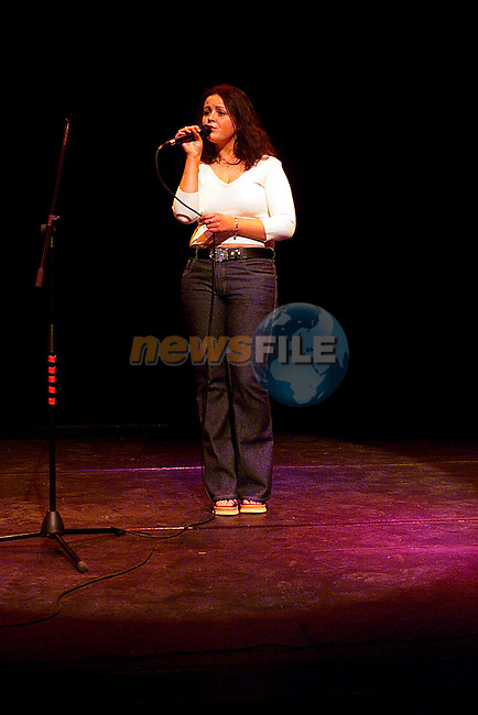 Louise Rock at The Teenage Voice Competition in The Arts Centre...Pic Tony Campbell/Newsfile