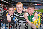 MATCH: Up for the match were Shane Dillon, Jeffrey OConnor and Gearoid Walsh pictured at the All Ireland Colleges Final in Croke Park on Sunday. .