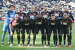 Granada CF's team photo with Guillermo Ochoa, Gabriel Silva, Sergi Samper, David Lomban, Artem Kravets, Ruben Vezo, Frank Tabanou, Jeremie Boga, Uche Agbo, Tito Roman and Andreas Pereira during La Liga match. January 7,2016. (ALTERPHOTOS/Acero)