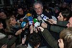 BILBAO. ESPAÑA. POLITICA.<br /> Manifestación pro derechos de los presos vascos; a 04/01/2014.<br /> En la imagen :<br /> Adolfo Muñoz (ELA)