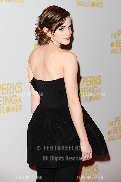 Emma Watson arriving for The Perks of being a Wallflower gala screening at The Mayfair hotel, London. 26/09/2012 Picture by: Steve Vas / Featureflash