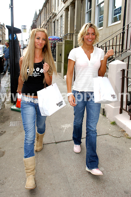 **ALL ROUND EXCLUSIVE PICTURES FROM SOLARPIX.COM**.**WORLDWIDE SYNDICATION RIGHTS**.Chantelle Haughton and Hollyoaks babe Gemma Atkinson out on a shopping trip in Glasgow today..JOB REF: 4402-JGS        DATE:  27.07.07.**MUST CREDIT SOLARPIX.COM OR DOUBLE FEE WILL BE CHARGED* *UNDER NO CIRCUMSTANCES IS THIS IMAGE TO BE REPRODUCED FOR ANY ONLINE EDITION WITHOUT PRIOR PERMISSION*
