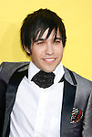 LOS ANGELES, CA. - September 07: Musician Pete Wentz of Fall Out Boy arrives at the 2008 MTV Video Music Awards at Paramount Pictures Studios on September 7, 2008 in Los Angeles, California.