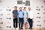 "The left to the right, the director of the film, Raul Arevalo, Antonio de la Torre, Ruth Diaz and Luis Callejo during the presentation of the spanish film "" Tarde para la Ira"" at Cines Palafox in Madrid. September 06, Spain. 2016. (ALTERPHOTOS/BorjaB.Hojas)"
