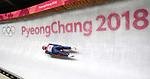 Adam Rosen (GBR). Mens luge. Pyeongchang2018 winter Olympics. Alpensia sliding centre. Alpensia. Gangneung. Republic of Korea. 11/02/2018. ~ MANDATORY CREDIT Garry Bowden/SIPPA - NO UNAUTHORISED USE - +44 7837 394578