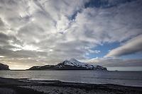 Rugged Heard Island, Antarctica