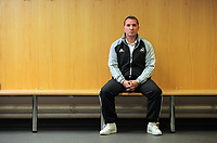 2012 01 12 Brendan Rodgers, press conference, Liberty Stadium, South Wales, UK.