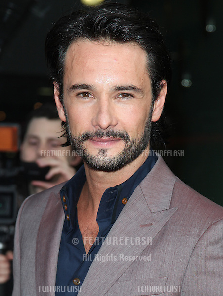 Rodrigo Santoro arriving for the UK Premiere of 'What To Expect When You're Expecting' at the Imax Cinema, London. 22/05/2012 Picture by: Alexandra Glen / Featureflash