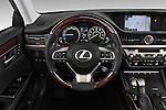 Car pictures of steering wheel view of a 2018 Lexus ES 300h 4 Door Sedan Steering Wheel
