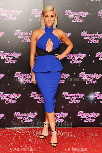 "Ashley Roberts at London Television Centre for the launch of ""Dancing on Ice"" 2014, London. 02/01/2014 Picture by: Steve Vas / Featureflash"