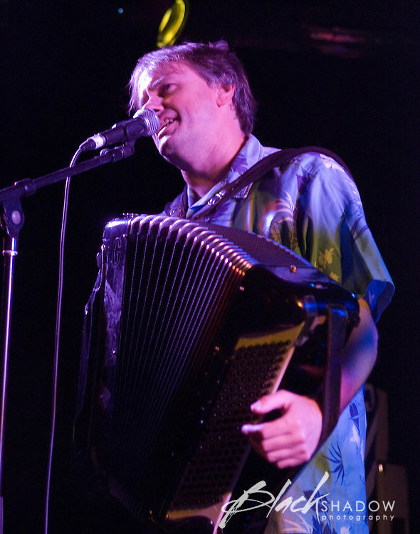 Rob Clarkson performing at the Roosistence Concert raising money to keep North Melbourne Football Club in Melbourne at the Prince of Wales, Melbourne, 29 November 2007