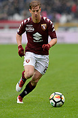 18th March 2018, Stadio Olimpico di Torino, Turin, Italy; Serie A football, Torino versus Fiorentina; Cristian Ansaldi breaks up the wing on the ball