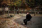 Will Tobin at a park in Paris