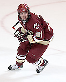 Benn Ferreiro - The Boston College Eagles defeated the Miami University Redhawks 5-0 in their Northeast Regional Semi-Final matchup on Friday, March 24, 2006, at the DCU Center in Worcester, MA.