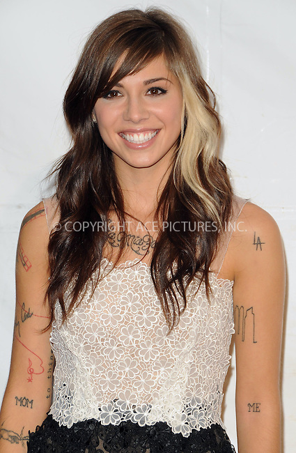 WWW.ACEPIXS.COM . . . . . ....February 11 2011, Los Angeles....Singer Christina Perri arriving at the 2011 MusiCares Person of the Year Tribute to Barbra Streisand at the Los Angeles Convention Center on February 11, 2011 in Los Angeles, CA....Please byline: PETER WEST - ACEPIXS.COM....Ace Pictures, Inc:  ..(212) 243-8787 or (646) 679 0430..e-mail: picturedesk@acepixs.com..web: http://www.acepixs.com