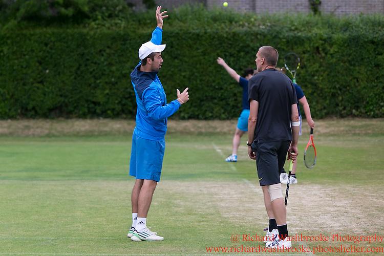 Jonathan Markson Tennis, Oxford Week 2  8th July 2015<br /> <br /> Photo:  - Richard Washbrooke Photography