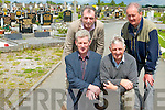 Beaufort Community Council and local councillor Michael Cahill are calling on Kerry County Council to acquire land for a new graveyard in Beaufort before the current graveyard is full.<br /> Front L-R Padraig O'Sullivan (vice chairman Beaufort Community Council) and Tim Moriarty (chairman) <br /> Back L-R Cllr Michael Cahill and Neilly O'Sullivan (Beaufort community council)