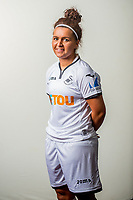 Wedensday 26 July 2017<br />Pictured: Jodie Passmore<br />Re: Swansea City Ladies Squad 2017- 2018 at the Liberty Stadium, Wales, UK