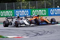 12th July 2020; Styria, Austria; FIA Formula One World Championship 2020, Grand Prix of Styria race day; FIA Formula One World Championship 2020, Grand Prix of Styria,  10 Pierre Gasly FRA, Scuderia AlphaTauri Honda, 4 Lando Norris GBR, McLaren F1 Team