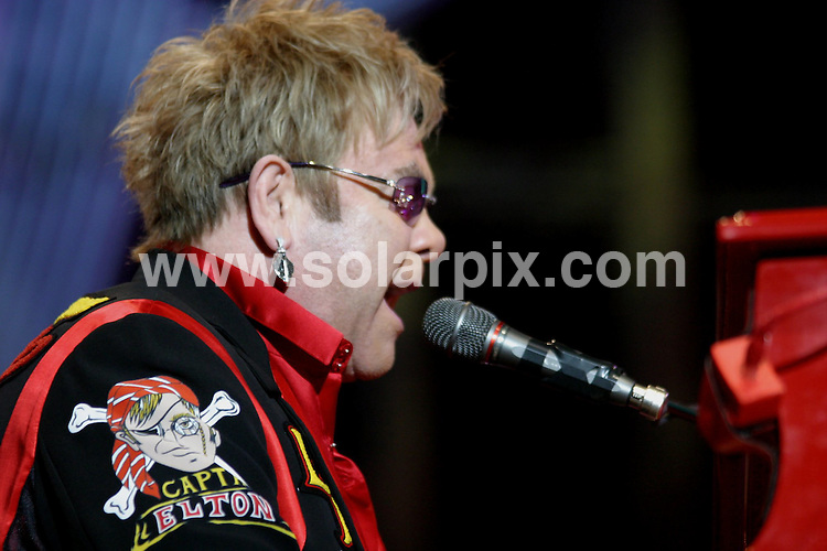 **ALL ROUND PICTURES FROM SOLARPIX.COM**.**WORLDWIDE SYNDICATION RIGHTS**.The pop singer Elton John was in concert last night at the National Indoor Arena in Birmingham in the UK...JOB REF: 7962-NYA     DATE:19-11-08.**MUST CREDIT SOLARPIX.COM OR DOUBLE FEE WILL BE CHARGED* *UNDER NO CIRCUMSTANCES IS THIS IMAGE TO BE REPRODUCED FOR ANY ONLINE EDITION WITHOUT PRIOR PERMISSION*