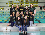 1-15-14, Huron High School synchronized swimming team