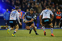 Nick Williams of Cardiff Blues in action during the Guinness Pro14 Round 8 match between the Cardiff Blues and Zebre Rugby at the Cardiff Arms Park in Cardiff, Wales, UK. Sunday 4th November 2018