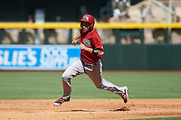 Arizona Diamondbacks Jason Morozowski (7) during an instructional league game against the San Francisco Giants on October 16, 2015 at the Chase Field in Phoenix, Arizona.  (Mike Janes/Four Seam Images)