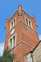 Europe/France/Languedoc-Roussillon/66/Pyrénées-Orientales/Perpignan: Clocher Eglise Saint-Jacques XIII et XIV éme siècle