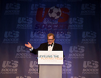 Drew Carey.  The 2010 US Soccer Foundation Gala was held at City Center in Washington, DC.