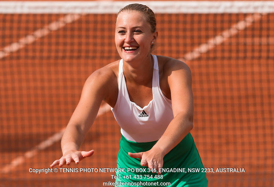 KRISTINA MLADENOVIC (FRA)<br /> <br /> TENNIS - FRENCH OPEN - ROLAND GARROS - ATP - WTA - ITF - GRAND SLAM - CHAMPIONSHIPS - PARIS - FRANCE - 2017  <br /> <br /> <br /> <br /> &copy; TENNIS PHOTO NETWORK