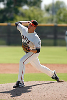 Brian Irving -San Francisco Giants 2009 Instructional League. .Photo by:  Bill Mitchell/Four Seam Images..