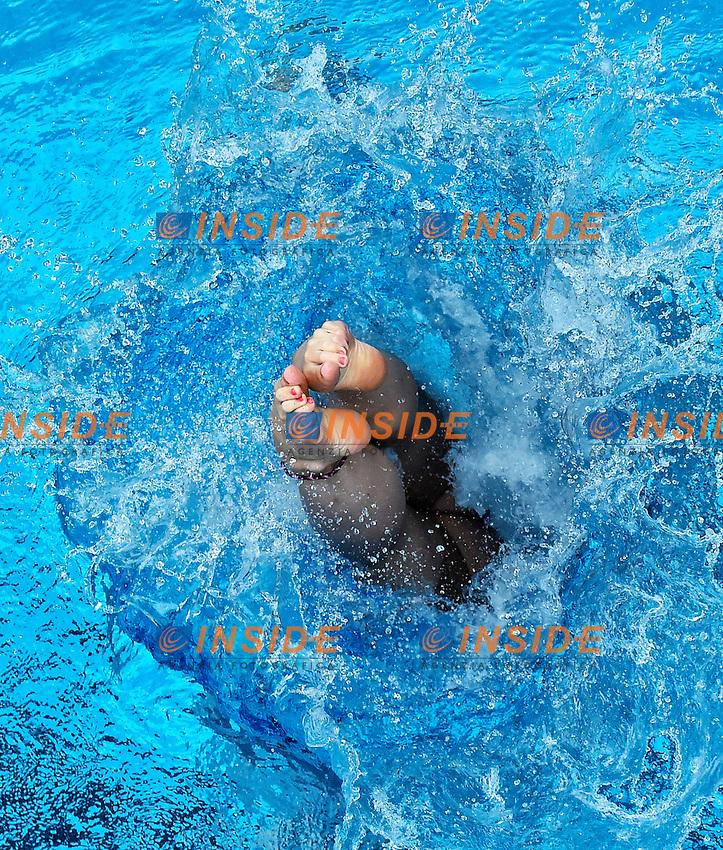 FAVRE Jessica SUI <br /> 3m Springboard Women Semi-Final - Trampolino 3m Donne Semifinale <br /> Bolzano 02-08-2014 <br /> 20 Fina Diving Grand Prix <br /> Photo Andrea Staccioli/Insidefoto