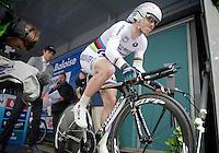 Tour of Belgium 2013.stage 3: iTT..World Champion Tony Martin (DEU) out the blocks