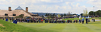 A large crowd 1st following Jon Rahm (ESP) during Round 3 of the Open de Espana 2018 at Centro Nacional de Golf on Saturday 14th April 2018.<br /> Picture:  Thos Caffrey / www.golffile.ie<br /> <br /> All photo usage must carry mandatory copyright credit (&copy; Golffile | Thos Caffrey)
