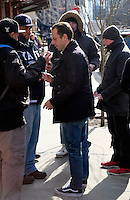 www.acepixs.com<br /> <br /> February 3 2017, New York City<br /> <br /> Actor Giovanni Ribisi signed autographs for fans as he arrived at a downtown hotel on February 3 2017 in New York City<br /> <br /> By Line: Curtis Means/ACE Pictures<br /> <br /> <br /> ACE Pictures Inc<br /> Tel: 6467670430<br /> Email: info@acepixs.com<br /> www.acepixs.com